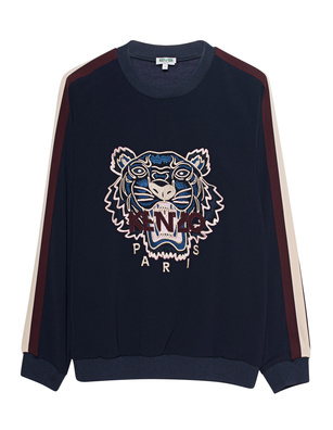 KENZO Tiger Embroidery Stripes Navy