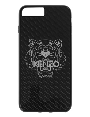 KENZO iPhone 7 Plus Carbon Fiber Black