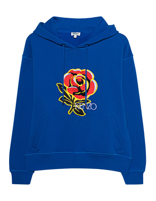 KENZO Bold Hoodie Blue