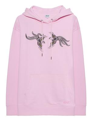 KENZO Long Hoodie Birds Pink