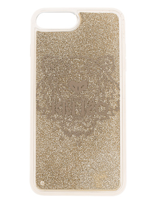 KENZO Case iPhone 8+ Tiger Head Gold