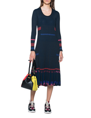 KENZO Knit Dress Navy