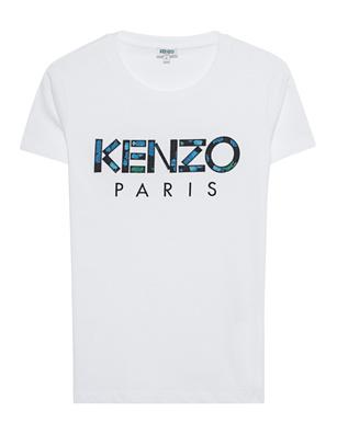 KENZO Slim Logo White