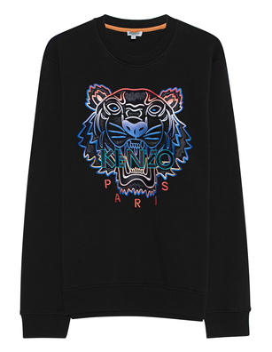 KENZO Sweater Tiger Gradient Black