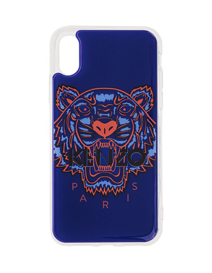 KENZO Iphone X/Xs Case 3D Tiger Head Blue