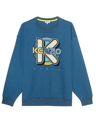 KENZO Wetsuit Oversized Blue