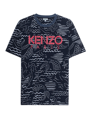 KENZO All Over Shirt Navy