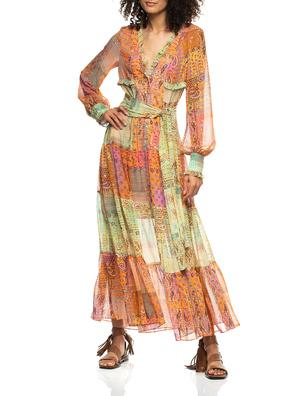 ALEXIS Long Farina Sunset Paisley Multicolor