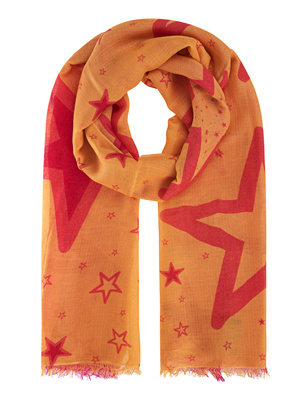 ALBEROTANZA Fine Twist Diamond Stars Pink Orange
