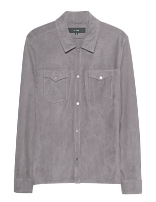 ARMA Suede Shirt Grey