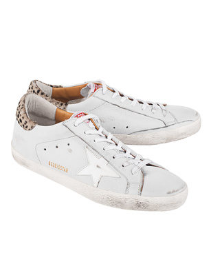 GOLDEN GOOSE DELUXE BRAND Superstar Ice Leather Leo Pony