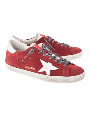 GOLDEN GOOSE DELUXE BRAND Superstar Red