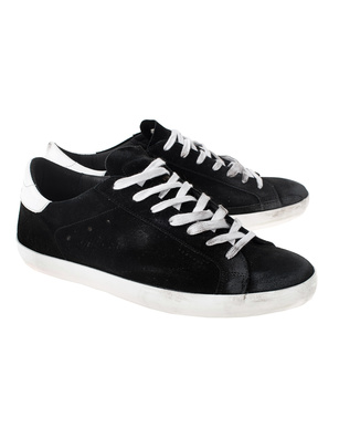 GOLDEN GOOSE DELUXE BRAND Superstar Suede Black