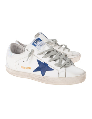GOLDEN GOOSE DELUXE BRAND Superstar Glitter White