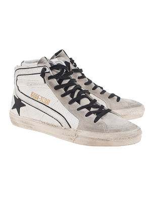 GOLDEN GOOSE DELUXE BRAND Slide Velours White