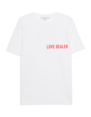 GOLDEN GOOSE DELUXE BRAND Cindy Love Dealer White