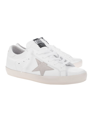 GOLDEN GOOSE DELUXE BRAND Superstar Smooth White