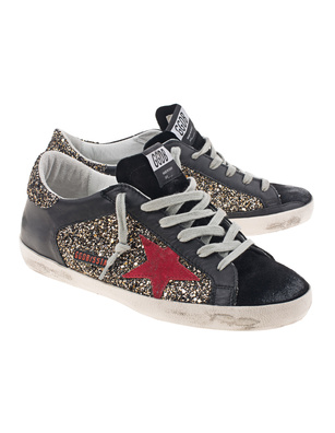 GOLDEN GOOSE DELUXE BRAND Superstar Glitter Bronze