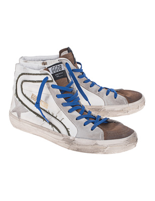 GOLDEN GOOSE DELUXE BRAND Slide High White