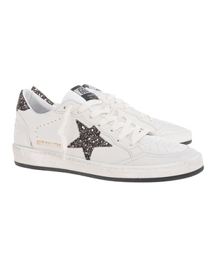 GOLDEN GOOSE DELUXE BRAND Ball Star Glitter White
