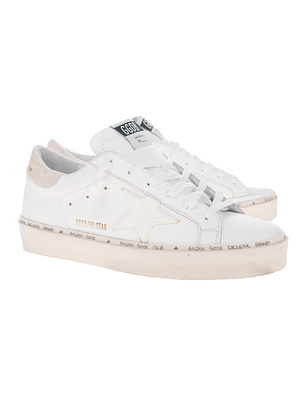 GOLDEN GOOSE DELUXE BRAND Hi Star White