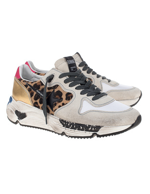 GOLDEN GOOSE DELUXE BRAND Running Sole Leo Multicolor