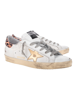 GOLDEN GOOSE DELUXE BRAND Superstar Gold Star Leo White
