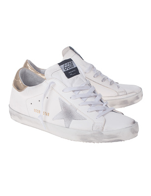 GOLDEN GOOSE DELUXE BRAND Superstar Gold White