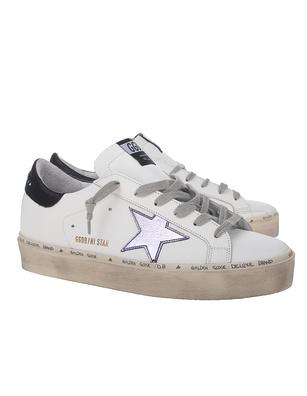 GOLDEN GOOSE DELUXE BRAND Hi Star Lilla Star White