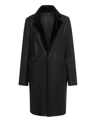 GIORGIO BRATO Lamb Fur Black
