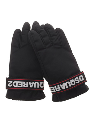 DSQUARED2 Dsq Gloves Black