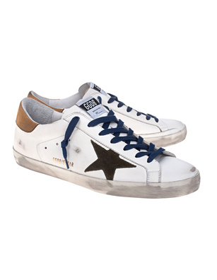 GOLDEN GOOSE DELUXE BRAND Superstar White Camel