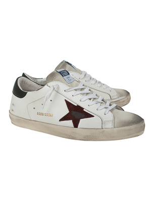 GOLDEN GOOSE DELUXE BRAND Superstar Classic White Green