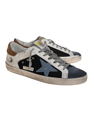 GOLDEN GOOSE DELUXE BRAND Superstar Mesh White