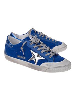 GOLDEN GOOSE DELUXE BRAND Superstar Penstar Blue