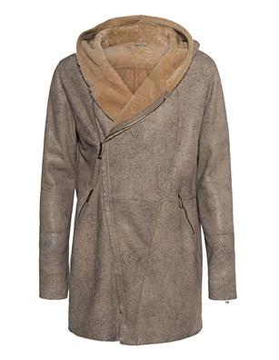 GIORGIO BRATO Lamb Fur Grey