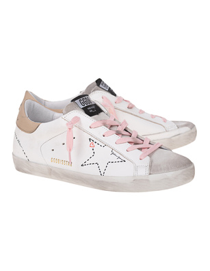 GOLDEN GOOSE DELUXE BRAND Superstar Dotted Star White
