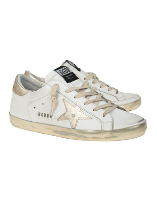 GOLDEN GOOSE DELUXE BRAND Superstar Vintage White Gold