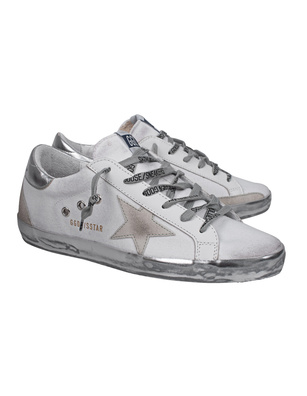 GOLDEN GOOSE DELUXE BRAND Superstar Canvas White
