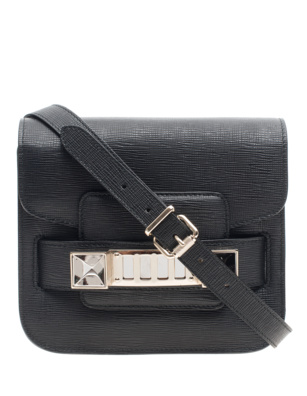 PROENZA SCHOULER PS11 Tiny New Linosa Black