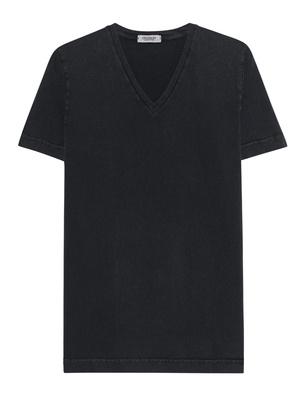 CROSSLEY Vneck Halt Shirt Black