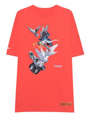 HERON PRESTON Herons Doves Red