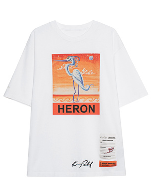 HERON PRESTON Logo Heron New White