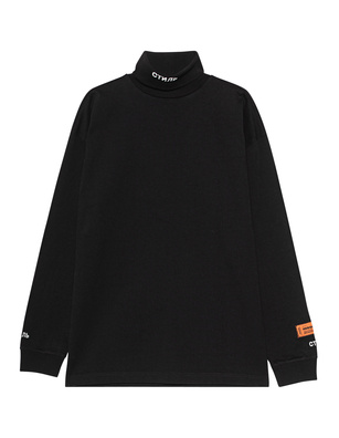 HERON PRESTON Roll Neck CTNMB Black