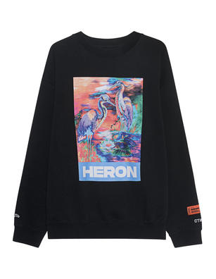 HERON PRESTON Colors Sweater Black