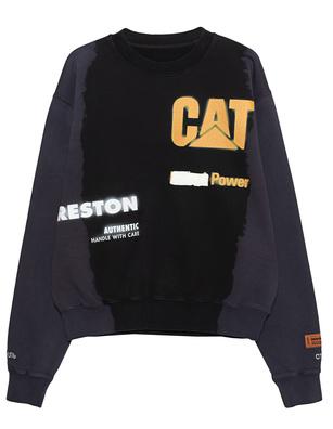Heron Preston x CAT Black