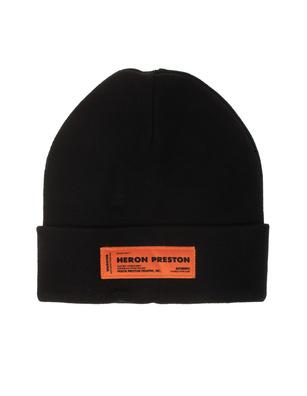 HERON PRESTON Knit Logo Black