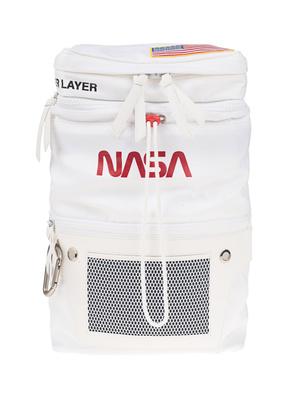 HERON PRESTON NASA Print White