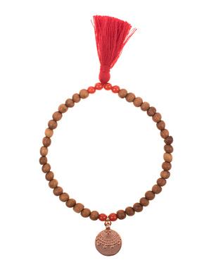 HOFFNUNGSTRÄGER Sandalwood Pearls Red Brown