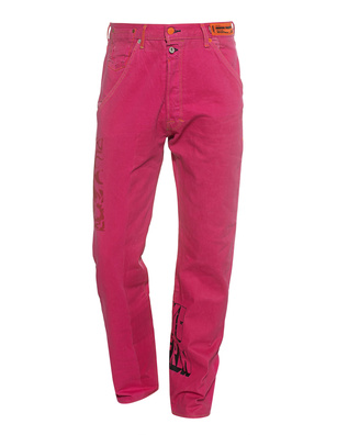 Heron Preston x Levi's 501 Pink